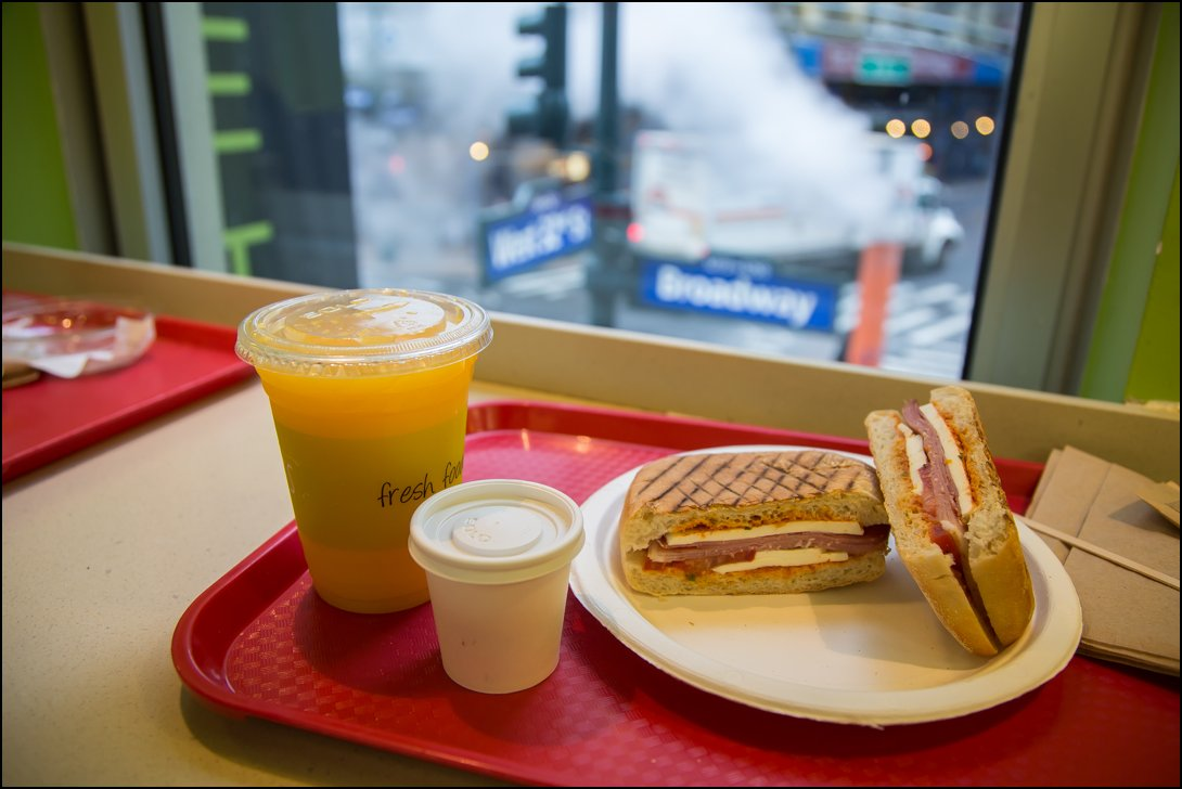 Ontbijten in New York