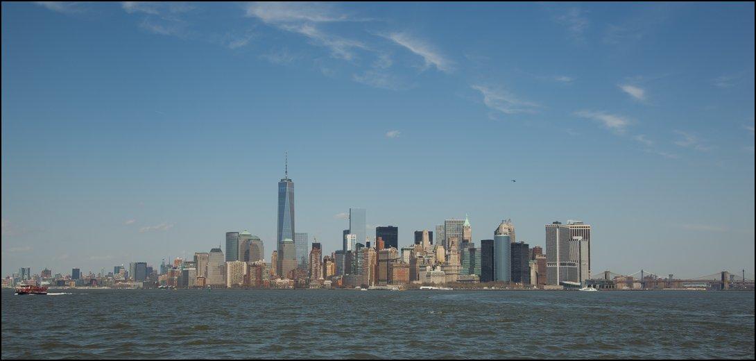Skyline van New York City
