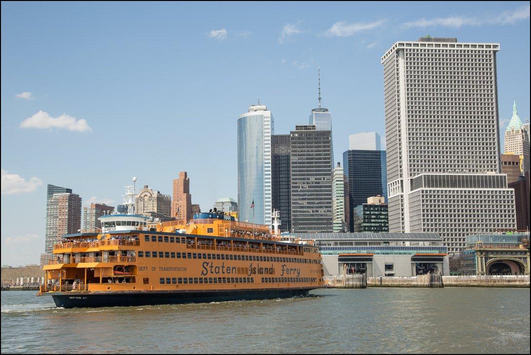 gratis veerboot naar Staten Island