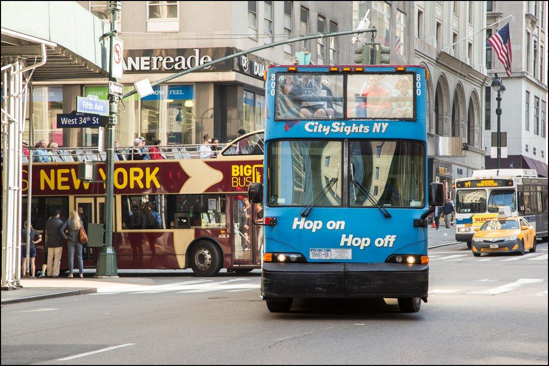 Toeristische bussen