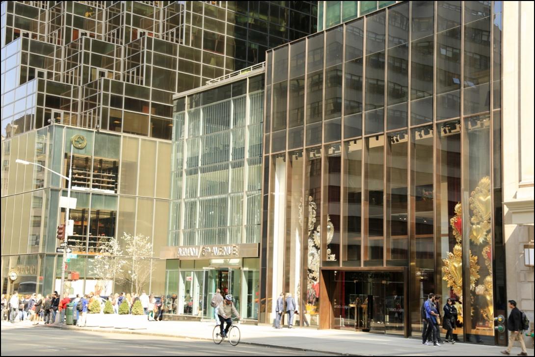 winkelen in NYC